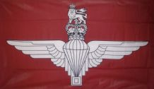 PARACHUTE REGIMENT - 5 X 3 FLAG